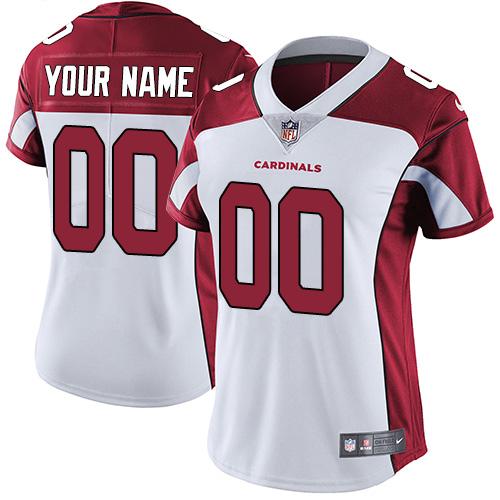 Women's Nike Arizona Cardinals Customized White Vapor Untouchable ...
